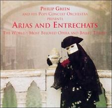 FREE US SHIP. on ANY 3+ CDs! NEW CD Philip Green: Arias and Entrechats