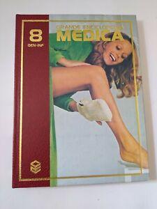 GRANDE ENCICLOPEDIA MEDICA CURCIO nr 8  GEN-INF  VOLUME CARTONATO