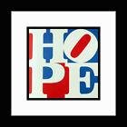 Custom Framed ROBERT INDIANA 'Hope' Art Book Print