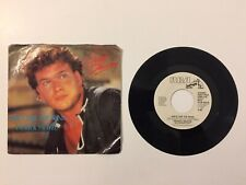 Patrick Swayze She's Like The Wind White Label Promo 7 Inch Single Vinyl Record