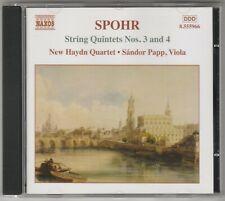 Louis Spohr - Streichquintette Vol.2, Nr. 3+4, CD