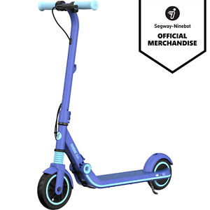 Segway Ninebot eKickscooter E8 Electric Scooter Foldable 130W Blue For Kids