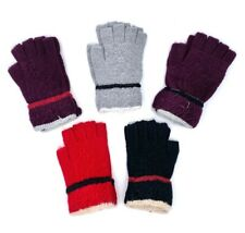 Women Winter Fingerless Gloves NEW FASHION KNIT WOOL Winter Gloves