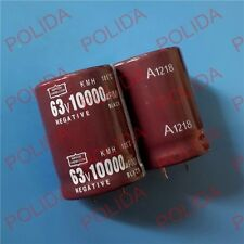 4PCS AUDIO Electrolytic Capacitor NIPPON 30*41mm 10000UF63V/63V10000UF