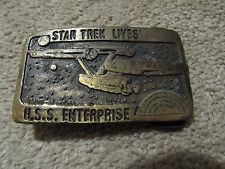 Tiffany Studio Star Trek Lives U.S.S Enterprise Belt Buckle  Tiffany Studio NY