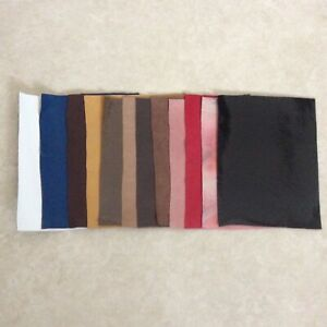 Real Leather 20cm x 15cm Remnant Sample Offcuts Clothing Furniture Patch Repairs