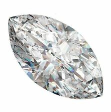 FOUR PCS -   0.5 Carat Russian Lab Simulate Diamond MARQUISE CUT 4 x 8 mm
