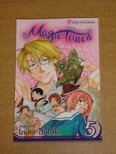 MAGIC TOUCH VOL 5 SHOJO BEAT MANGA IZUMI TSUBAKI GN<
