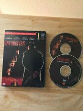 Unforgiven 2-disc Special Edition Clint Eastwood Gene Hackman Vg free shipping