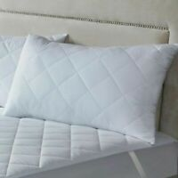 2 PACK PILLOWS HOTEL LUXURY PREMIUM EGYPTIAN COTTON STRIPE FIRM QUILTED PILLOWS