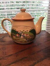 Newcor Stoneware Japan Country Village Teapot