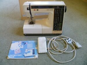 New Home Memory Craft 6000 Sewing Machine. Fully Working, With Pedal
