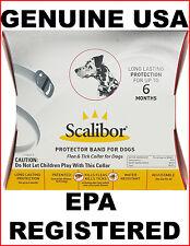 Scalibor 6 Month Protector Collar For Fleas And Ticks Genuine USA/EPA Registered