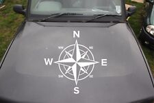 Large Compass Sticker Decal 4x4 off Road Navigation Style Vehicle Styling