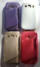 Gel De Silicona Piel, teléfono caso, cubierta para caber Samsung Galaxy Ace 4 (G357)
