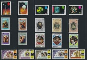 H 214 Dominica / A Small Collection Early & Modern Umm & Lhm