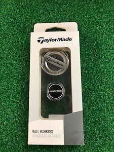 TaylorMade Antique Nickel Ball Marker Set