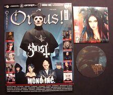 ORKUS !  Nr.6  Juni 2018 + CD + wendbarer Bierdeckel ungelesen, Top Zustand