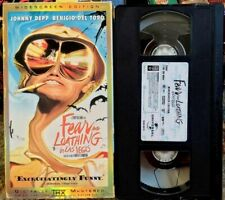Fear And Loathing In Las Vegas VHS Rare Widescreen Edition