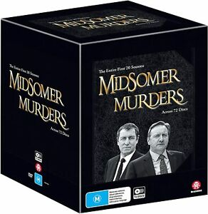 Midsomer Murders Season 1 - 20 Collection Limited Edition DVD Box set R4