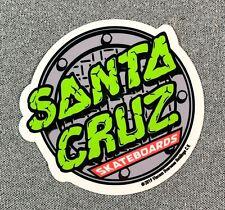 "Santa Cruz x TMNT Teenage Mutant Ninja Turtles 5 Skateboard Sticker 3.5"""