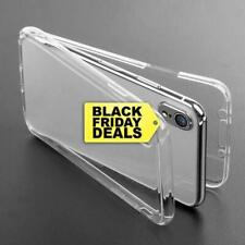 For iPhone 7,8,Xs,XR Shockproof 360 TPU Phone Cover Silicone Front and Back Case