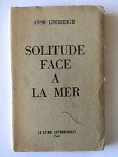 SOLITUDE FACE A LA MER 1956 LINDBERGH