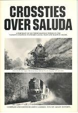 Crossties Over Saluda Southern Railway Portrait by John Gilbert Grady Jefferys