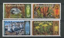 (W0223) FALKLAND ISL., COLOUR IN NAT. 4, 2015, SET IN PAIRS, UM/MNH, SEE SCAN