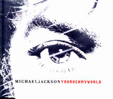 MICHAEL JACKSON - YOU ROCK MY WORLD CD SINGLE 5 TRACKS SEALED 2001