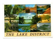 Cumbria - The Lake District - Multiview Postcard Franked 1994