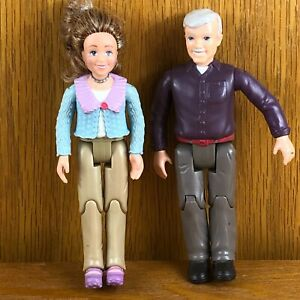 Fisher Price Loving Family Dollhouse People Grandma Grandpa Grandparents