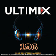 Ultimix 196 CD Ultimix Records Avicii Demi Lovato Cher Duck Sauce Ke$ha Crew 7