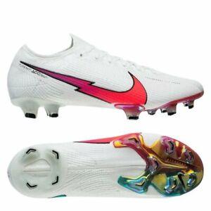 Nike Mercurial Vapor 13 Elite FG SZ 6 Flash Crimson Jade Soccer Cleat AQ4176-163