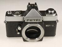 PRL) PETRI MF-1 FOTOCAMERA ANALOGICA FOTORIPARATORE BODY SPARE PARTS REPAIR