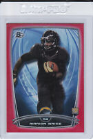 2014 Bowman Chrome Red Marion Grice Rookie Football Card #51 Arizona State /199!