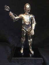 2005 Gentle Giant Star Wars Gold Plated C-3PO Statue 0096/3000