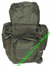 MOCHILA BOLSA MOLLE backpack OPERATION VERDE 100% POLIESTER 40x21x7cm 30363B MF