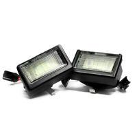 2 X LED Éclairage De Plaque pour Mercedes ML W164 D'Immatriculation Lumières
