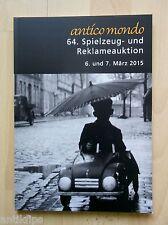 64. Spielzeug- und Reklameauktion Auktionskatalog Antico Mondo Köln