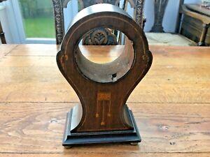 mahogany art nouveau clock case !