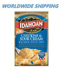 Idahoan Cheddar & Aigre Crème Purée Pommes de Terre 118ml Mondial Livraison