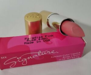Mary Kay Signiture GOLD TUBE Creme Lipstick PARADISE PINK #550900 RARE