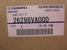 Genuine OEM Subaru Impreza WRX Front Brake Pad Set 2015 (26296VA000)
