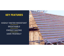 VapR Free Xtra Roof Underlay 50 x 1m - All Zones Breathable Pitched Roof Felt