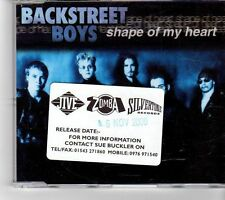 (FK602) Backstreet Boys, Shape Of My Heart - 2000 CD