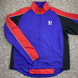 Men's Pearl Izumi Technical Wear Cycling Colorful Windbreaker Jacket size XL