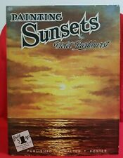 Vintage Painting Sunsets Paperback Painting Art book Walter T. Foster