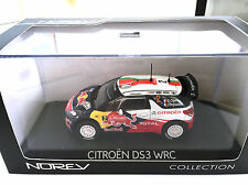 CITROËN DS3 WRC 1:43 NOREV RALLYE DU PORTUGAL 2011 OGIER/ RALLY MODEL CAR 155352