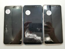 Lot of 3 Parts & Repair Samsung Galaxy S8 Active G892A ATT Check IMEI PR 3-292